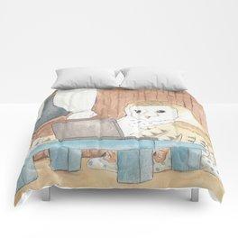 little night creature Comforters