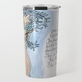 A Daphne Tree Travel Mug