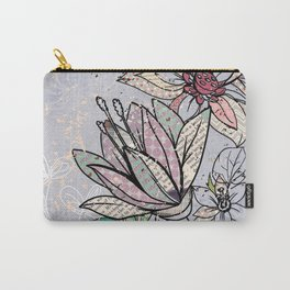 Paper Flowers #3 Carry-All Pouch