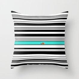 Goldfish Love  Throw Pillow