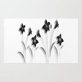 Schwarze Lilien Rug
