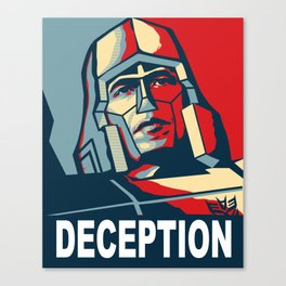 Deception 1 Canvas Print