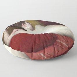 ODALISQUE - JULES JOSEPH LEFEBVRE Floor Pillow
