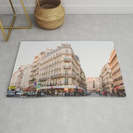 Sunset in Saint-Germain - Paris Photography Rug