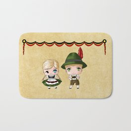 German Chibis Bath Mat