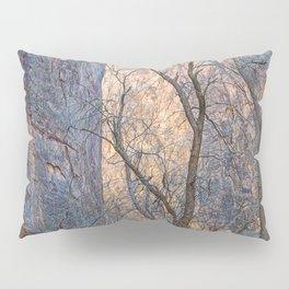 WARM WINTER WALLS OF ZION CANYON Pillow Sham