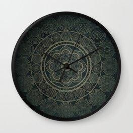Circular Connections Wall Clock