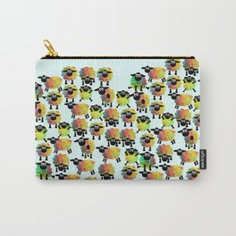 Sheep pattern Carry-All Pouch