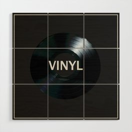 Vinyl Wood Wall Art