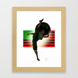 My Stankfu Colors Framed Art Print