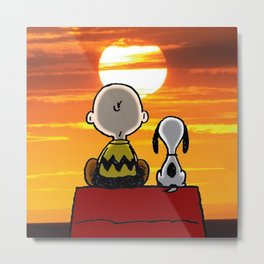 carly snoopy wonderful Metal Print