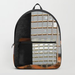 Morphed Portrait of an Electric Bass Backpack