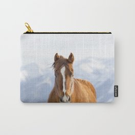 Beautiful Mountain Horse Carry-All Pouch