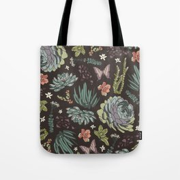 Cacti by Night Tote Bag