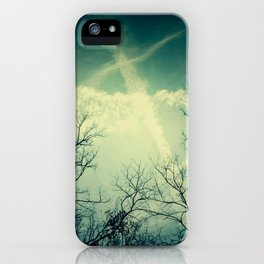 painting through the sky . iPhone Case