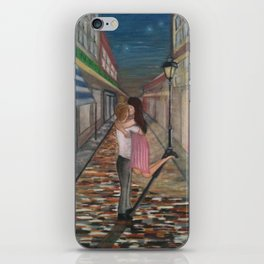 A Kiss in Paris iPhone Skin