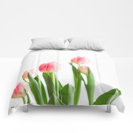 Dose of Spring by Tulips Comforters