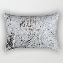 Frozen by Fire Rectangular Pillow