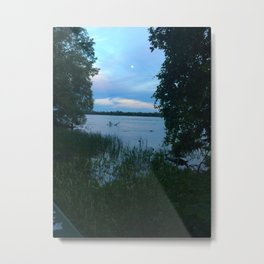 by the river • nature photography Metal Print