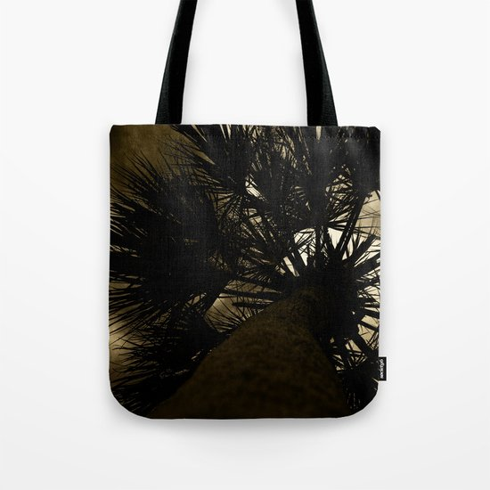 Palm Reaching To The Storm Tote Bag