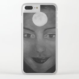 Self-portrait by Lu Clear iPhone Case