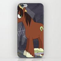 mlp iPhone & iPod Skins featuring MLP TROUBLESHOES CLYDE by Kalisourusrex