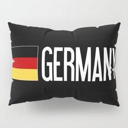 Germany: Germany & German Flag Pillow Sham