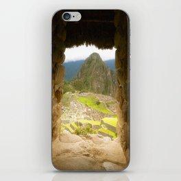Machu Picchu iPhone Skin