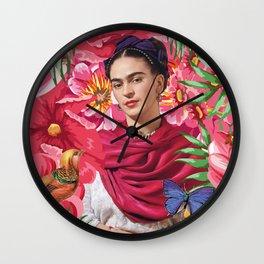 Forever Frida Kahlo Wall Clock