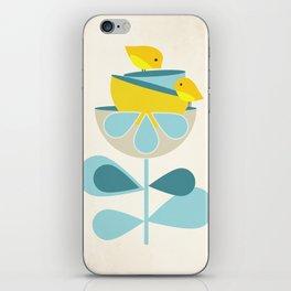 Birdies #society6 #buyart #decor iPhone Skin