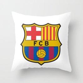 BARCELONA LOGO Throw Pillow