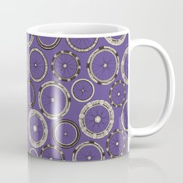 bike wheels violet Coffee Mug