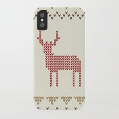 Knitted iPhone X Slim Case