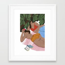 Summah! Framed Art Print