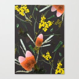 Wild Night Natives Canvas Print