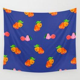 Jambu I (Wax Apple) - Singapore Tropical Fruits Series Wall Tapestry