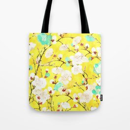 Cherry Blossom #society6 #painting #buyart Tote Bag