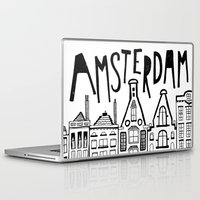 amsterdam Laptop & iPad Skins featuring Amsterdam by Heather Dutton