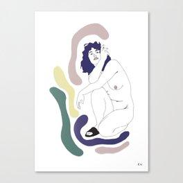 Womanhood I Canvas Print