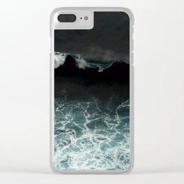 tropical storm Clear iPhone Case
