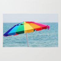 umbrella Area & Throw Rugs featuring Umbrella by BURNEDINTOMYHE∆RT♥