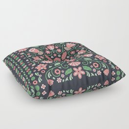 Floral_Relish_03b Floor Pillow