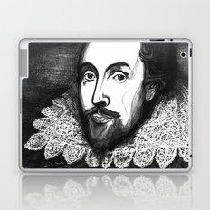 William Shakespeare Portrait - The Tudor Illustration Series Laptop & iPad Skin