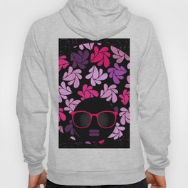 Afro Diva Pink Purple Hoody