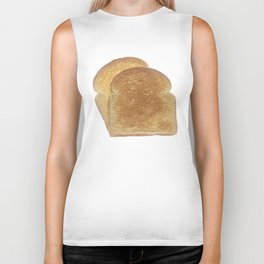 Breakfast Toast  Biker Tank