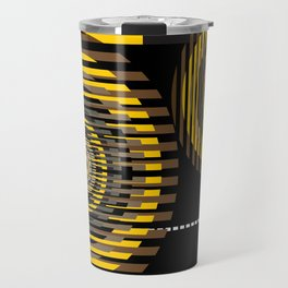 Sliced target Travel Mug