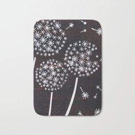 Dandelion Puff Bath Mat