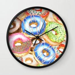 Donut Print Wall Clock