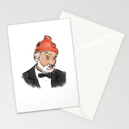 Bill Murray as Steve Zissou Stationery Cards