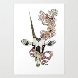 Oryx and Crake Art Print